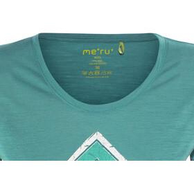 Meru Enköping - T-shirt manches courtes Femme - bleu